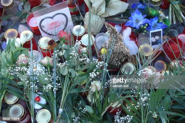 Gedenken des Terroranschlags in Berlin vom Terroranschlag vom auf dem Weihnachtsmarkt an der KaiserWilhelmGedächtniskirche am Breitscheidplatz...