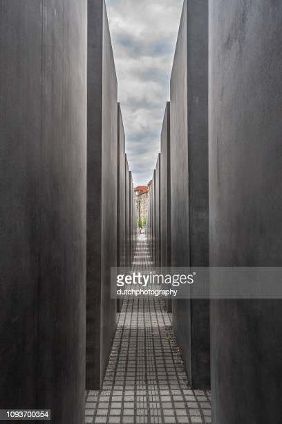 Gedenkteken voor de vermoorde Joden van Europa in Berlijn, Duitsland