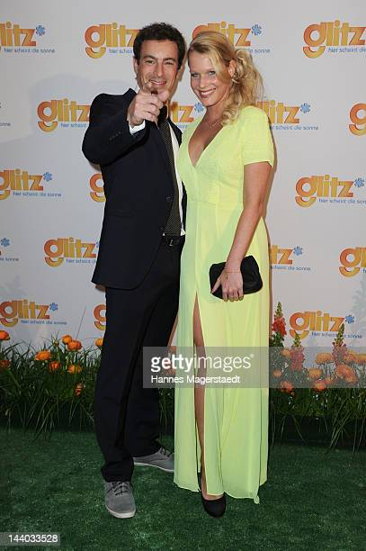 Gedeon Burkhard and his girlfriend Anika Bormann attend the launch party for glitz* the new women and lifestyle channel from Turner Broadcasting...