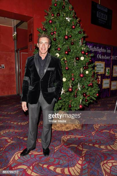 Gedeon Burkhard attends the Niki Lauda Charity-Poker-Competition on November 30, 2017 in Berlin, Germany.