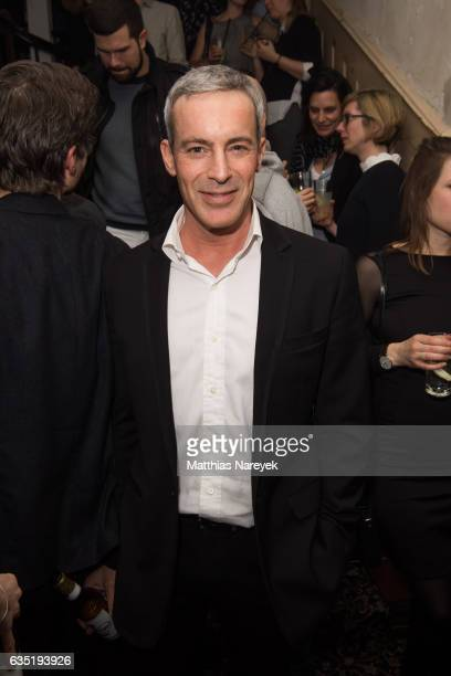 Gedeon Burkhard attends the Pantaflix Party during the 67th Berlinale International Film Festival Berlin at the Grand on February 13 2017 in Berlin...