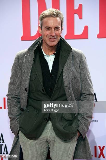Gedeon Burkhard attends the 'Santa Clarita Diet' special screening at CineStar on January 20 2017 in Berlin Germany