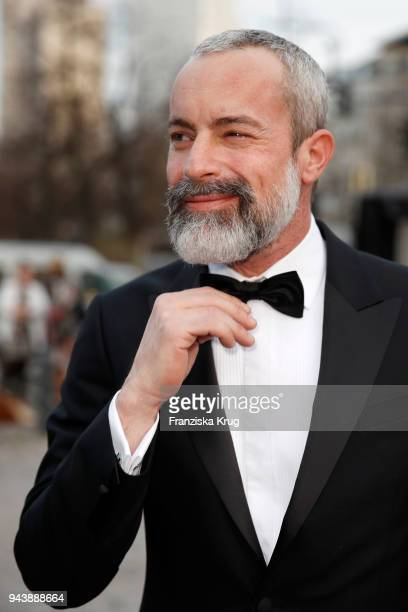 Gedeon Burkhard attends the Victress Awards gala on April 9 2018 in Berlin Germany