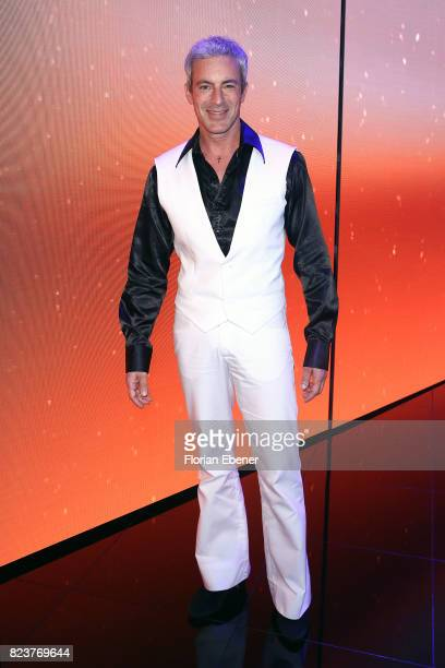 Gedeon Burkhard during the 1st show of the television competition 'Dance Dance Dance' on July 12 2017 in Cologne Germany The first episode of the...