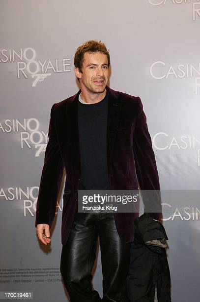 Gedeon Burkhard In Germany at Premiere Of 'Casino Royale' in Cinestar Potsdamer Platz Berlin