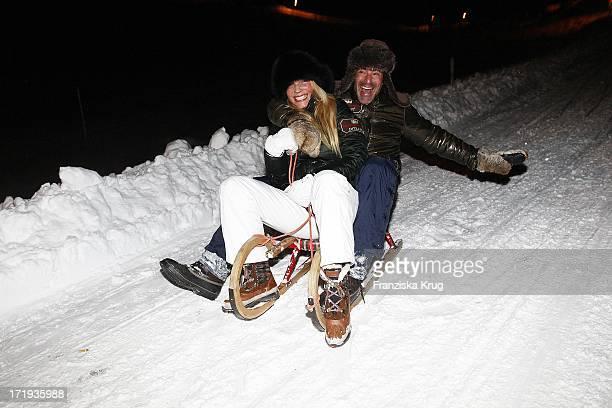 Gedeon Burkhard Mit Freundin Anika Bormann Beim Tirol Cross Mountain 2011 In Kühtai