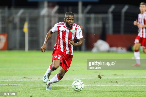Gedeon KALULU of Ajaccio during the Ligue 2 match between AC Ajaccio and Orleans at Stade Francois Coty on September 13 2019 in Ajaccio France