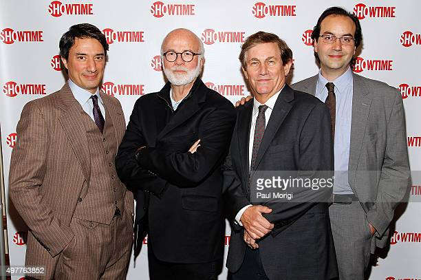 Gedeon Naudet, Director and Executive Producer, The Spymasters, David Hume Kennerly, Executive Producer, The Spymasters, Chris Whipple, Writer and...