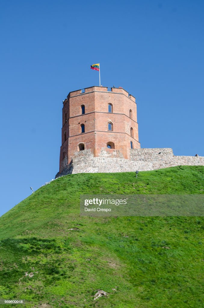 Gediminas' Tower (vertical) : Stock-Foto