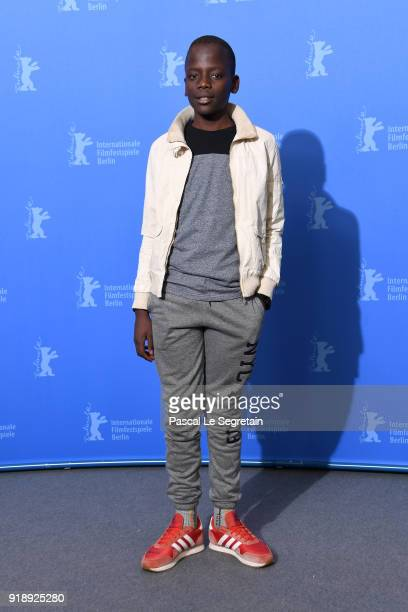 Gedion Oduor Wekesa poses at the 'Styx' photo call during the 68th Berlinale International Film Festival Berlin at Grand Hyatt Hotel on February 16...