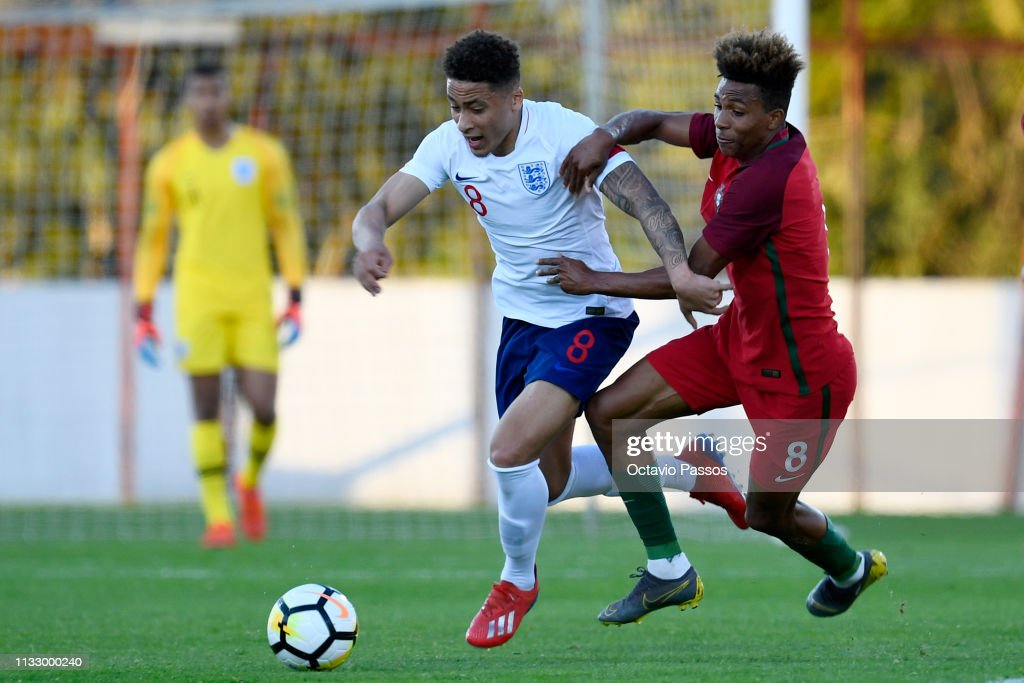 Portugal U20 v England U20 - International Friendly : News Photo