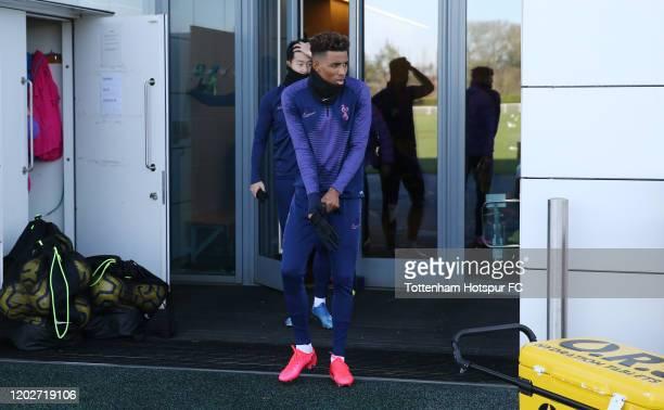 Gedson Fernandes of Tottenham Hotspur during the Tottenham Hotspur training session at Tottenham Hotspur Training Centre on January 29 2020 in...