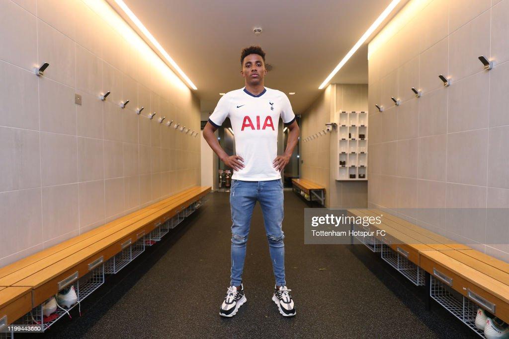 Tottenham Hotspur Unveil New Signing Gedson Fernandes : News Photo
