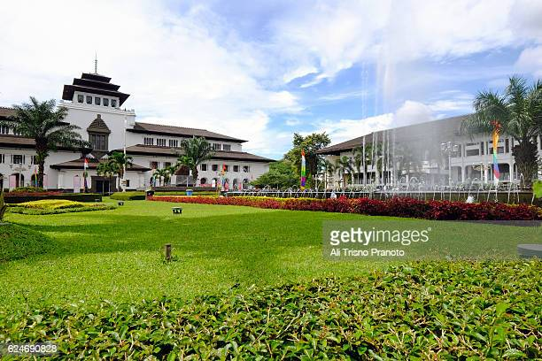 Gedung Sate, dutch building turned into government building in Bandung city.