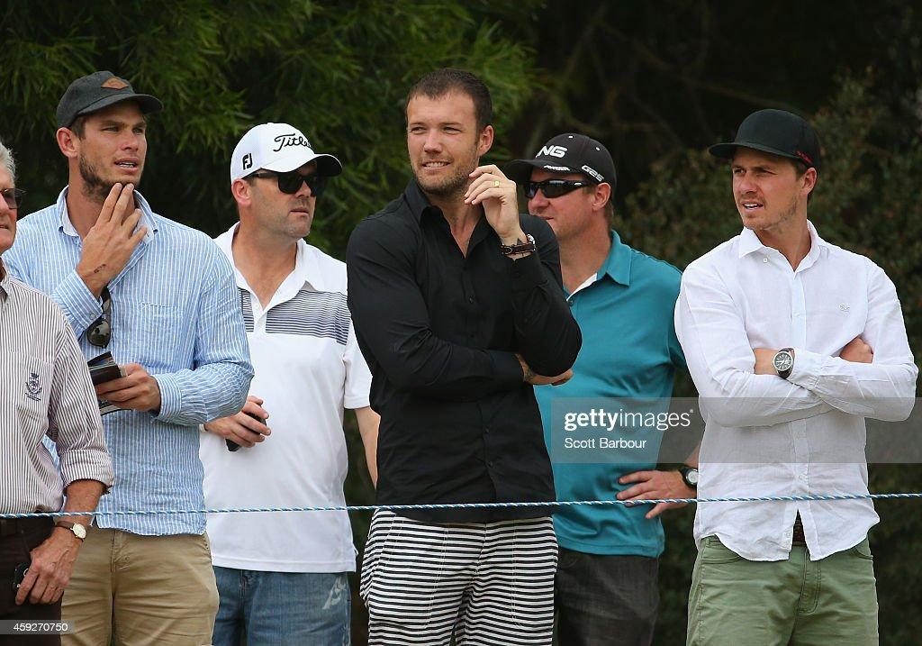 2014 Australian Masters - Day 1 : News Photo