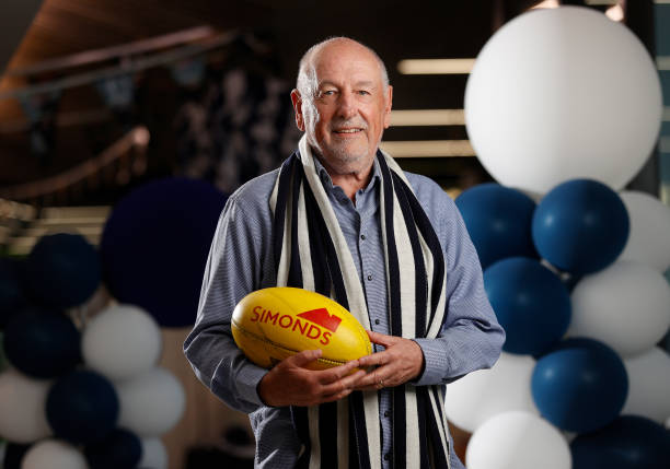 AUS: Geelong Football Club President Colin Carter Portrait Session