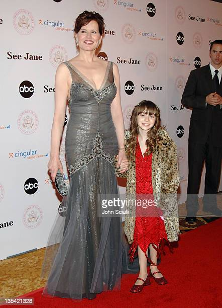 """Geena Davis and Jasmine Anthony during """"Commander-in-Chief"""" Inaugural Ball and Premiere Screening at Regent Beverly Wilshire in Beverly Hills,..."""