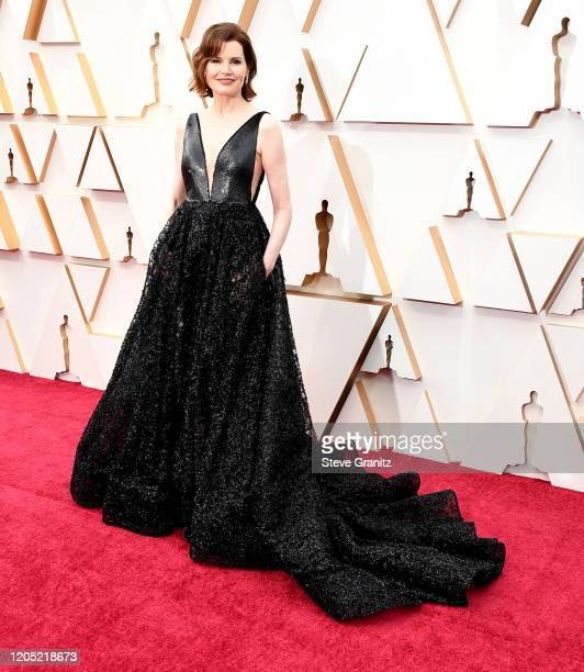 Geena Davis arrives at the 92nd Annual Academy Awards at Hollywood and Highland on February 09 2020 in Hollywood California