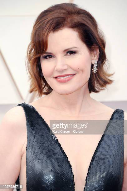 Geena Davis arrives at the 92nd Annual Academy Awards at Hollywood and Highland on February 09, 2020 in Hollywood, California.