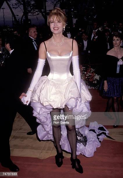 Geena Davis at the Dorothy Chandler Pavilion in Los Angeles California