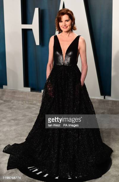 Geena Davis attending the Vanity Fair Oscar Party held at the Wallis Annenberg Center for the Performing Arts in Beverly Hills Los Angeles California...