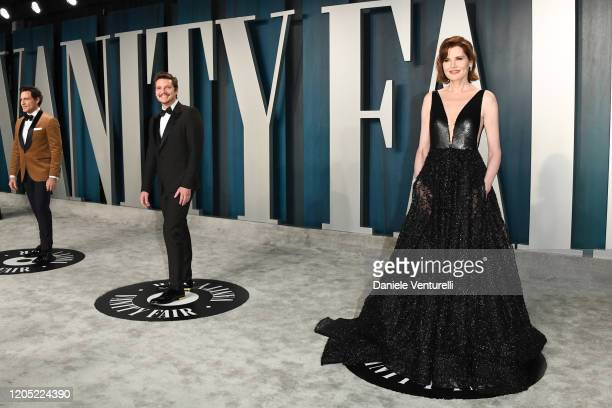 Geena Davis attends the 2020 Vanity Fair Oscar party hosted by Radhika Jones at Wallis Annenberg Center for the Performing Arts on February 09 2020...
