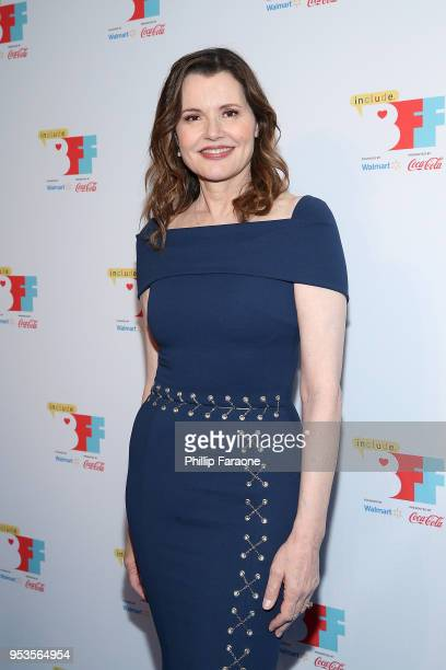 Geena Davis attends the 4th Annual Bentonville Film Festival on May 1 2018 in Bentonville Arkansas
