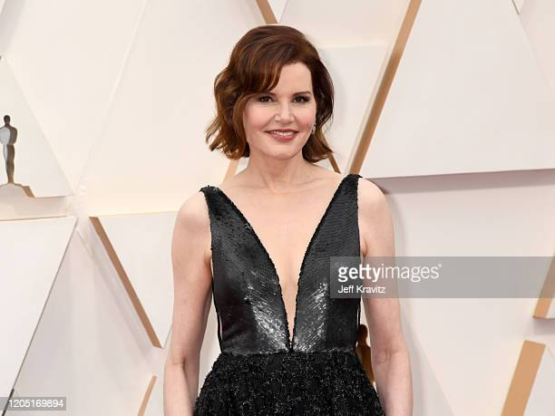 Geena Davis attends the 92nd Annual Academy Awards at Hollywood and Highland on February 09 2020 in Hollywood California