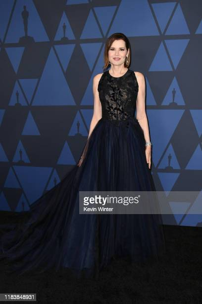 Geena Davis attends the Academy Of Motion Picture Arts And Sciences' 11th Annual Governors Awards at The Ray Dolby Ballroom at Hollywood Highland...