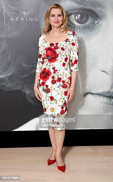 Geena Davis attends the Kering Women in Motion talk with Susan Sarandon Geena Davis Madeline Di Nonno during the The 69th Annual Cannes Film Festival...