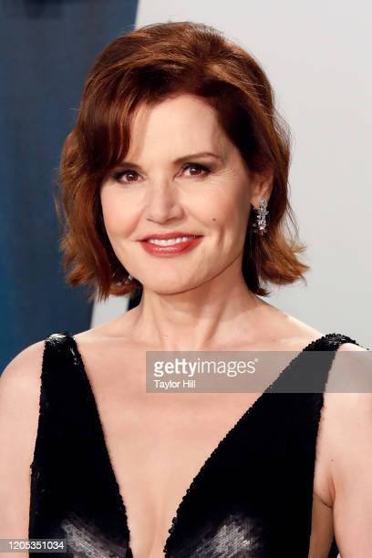 Geena Davis attends the Vanity Fair Oscar Party at Wallis Annenberg Center for the Performing Arts on February 09 2020 in Beverly Hills California