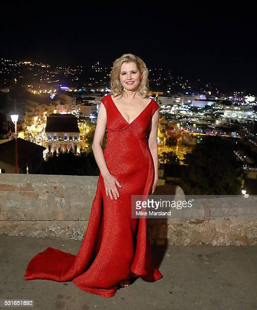 Geena Davis attends the Women in Motion Prize Reception part of The 69th Annual Cannes Film Festival on May 15 2016 in Cannes France