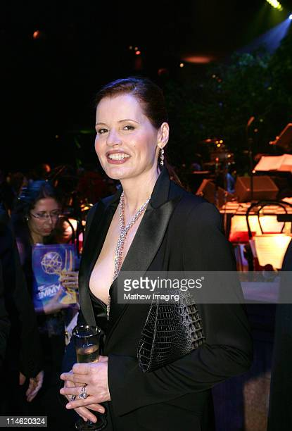 Geena Davis during 58th Annual Primetime Emmy Awards Governors Ball at The Shrine Auditorium in Los Angeles California United States