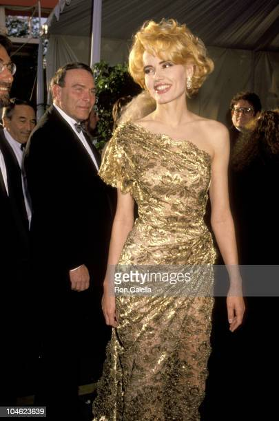Geena Davis during 63rd Annual Academy Awards at Shrine Auditorium in Los Angeles California United States