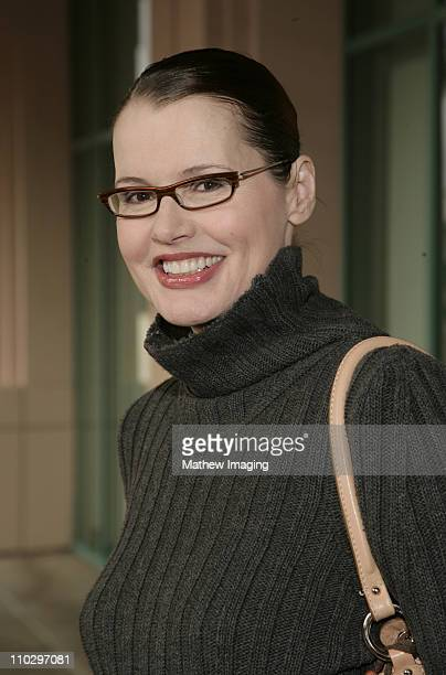 Geena Davis during Geena Davis Participates in the Humanitas Writers Workshop - March 21, 2007 at The Academy of Television Arts & Sciences in North...