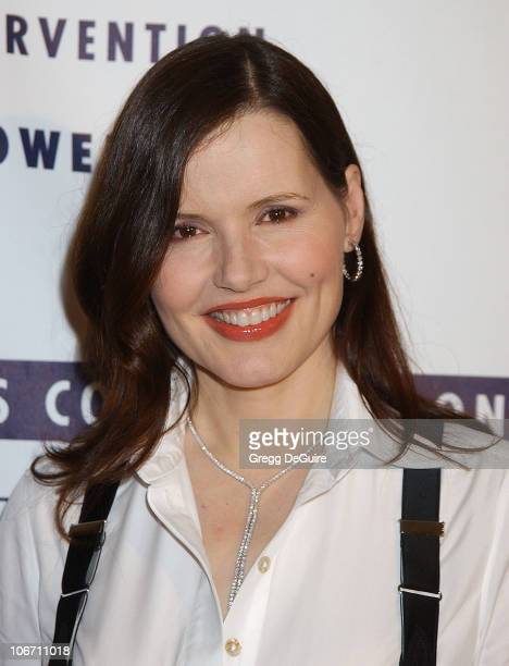 Geena Davis during LA Commission on Assaults Against Women Hosts its 31st Annual Humanitarian Awards at Fairmont Miramar Hotel in Santa Monica...