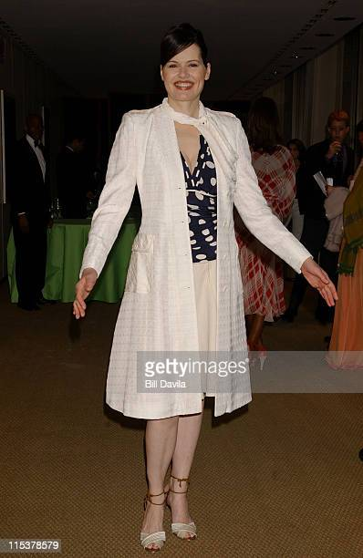 Geena Davis during The Film Society of Lincoln Center Honors Susan Sarandon at Avery Fisher Hall in New York City New York United States