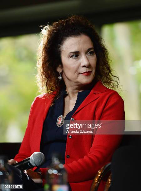 Geena Davis Foundation CEO Madeline Di Nonno attends the Women In Entertainment's 4th Annual Summit at the Skirball Cultural Center on October 11...