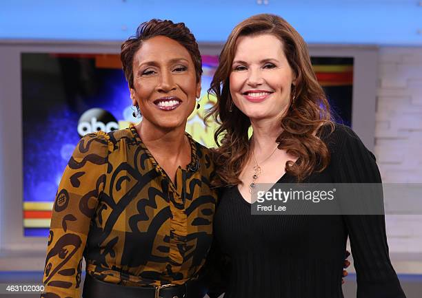 AMERICA Geena Davis is a guest on 'Good Morning America' 2/5/15 airing on the ABC Television Network