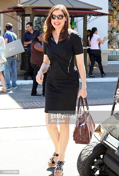 Geena Davis is seen at The Grove on August 27 2012 in Los Angeles California