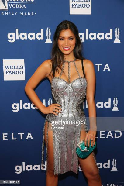 Geena Rocero attends the 29th Annual GLAAD Media Awards at Mercury Ballroom at the New York Hilton on May 5 2018 in New York City