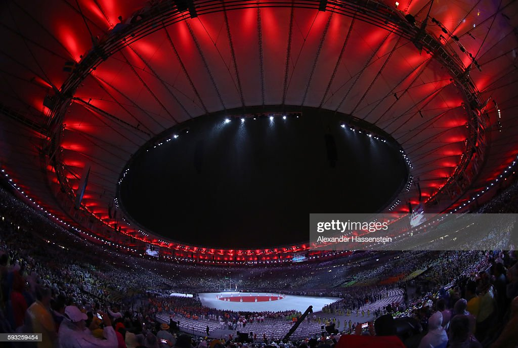 Closing Ceremony 2016 Olympic Games - Olympics: Day 16 : ニュース写真