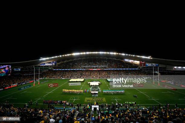 A geeral view during the Third International Test match between the Australian Wallabies and Ireland at Allianz Stadium on June 23 2018 in Sydney...