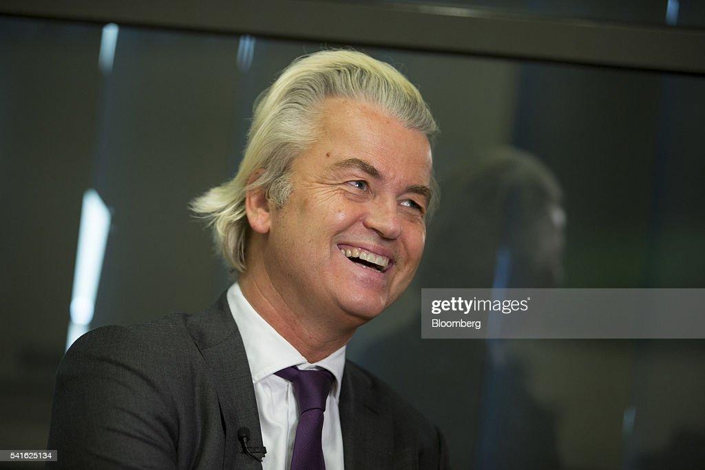Freedom Party Leader Geert Wilders Interview : News Photo