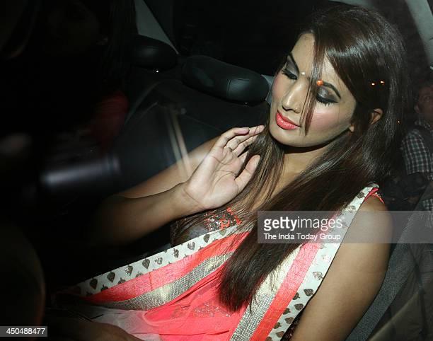 Geeta Basra arrives for Sachin Tendulkars farewell party in Mumbai