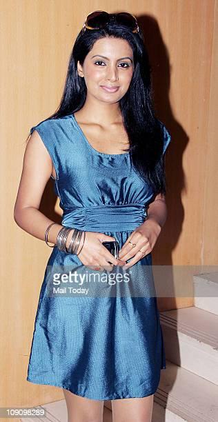 Geeta Basra at the launch of the album 'Tumko Dekha' by Anabelle Varma at Novotel Juhu on February 14 2011
