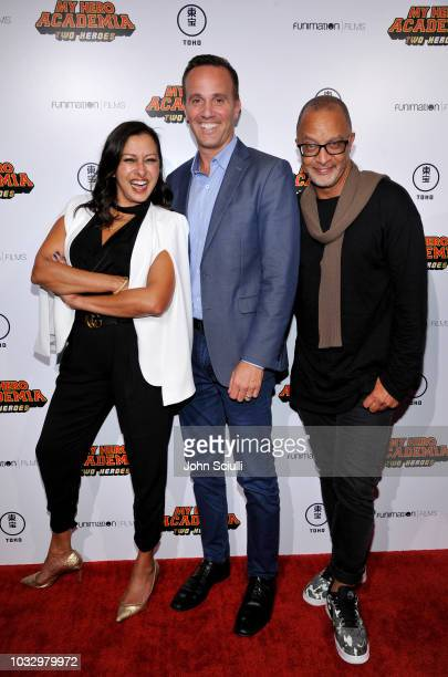 Geetanjali Dhillon chief marketing officer Funimation Eric Burger chief digital officer Sony Pictures Entertainment and Brett King vice president...