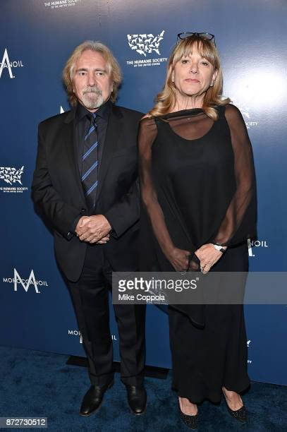 Geezer Butler and Gloria Butler attends the 2017 Humane Society of the United States to the Rescue New York Gala at Cipriani 42nd Street on November...