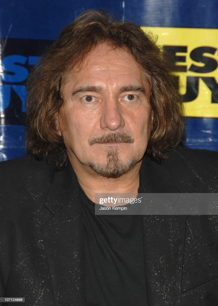 Geezer Butler during Black Sabbath In-Store Appearance For 'Heaven and Hell: The Dio Years' - April 3, 2007 at Best Buy - 5th Avenue in New York City, New York, United States.