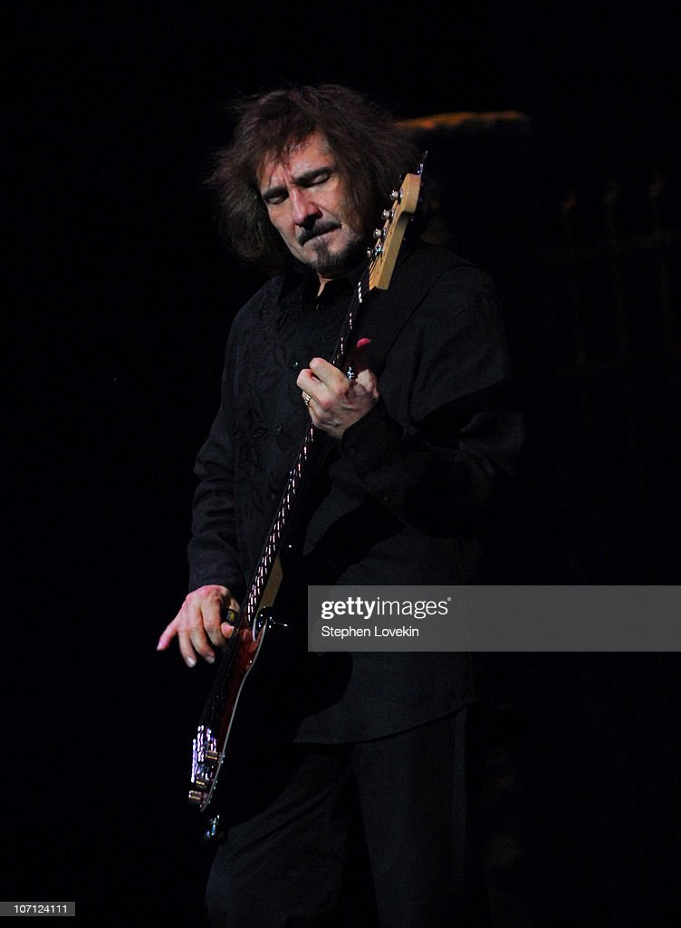 Geezer Butler during Heaven and Hell - Black Sabbath Featuring Ronnie James Dio in Concert at Radio City Music Hall in New York City - March 30, 2007 at Radio City in New York City, New York, United States.
